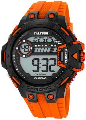 Calypso K5696 Herrenuhr Chrono digital mit PU-Armband – Bild 5