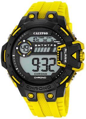 Calypso K5696 Herrenuhr Chrono digital mit PU-Armband – Bild 2