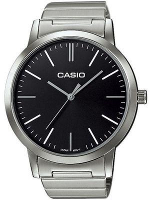 Casio Herrenuhr | klassisch mit Edelstahlarmband LTP-E118D – Bild 2