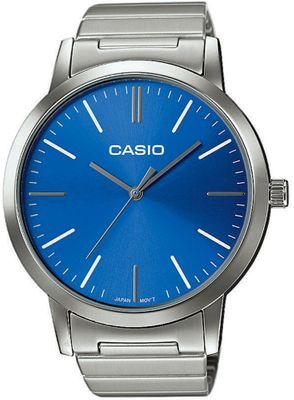 Casio Herrenuhr | klassisch mit Edelstahlarmband LTP-E118D – Bild 3