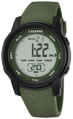 Calypso K5698 Herrenuhr Chrono digital mit PU-Armband – Bild 5