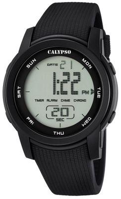 Calypso K5698 Herrenuhr Chrono digital mit PU-Armband – Bild 7
