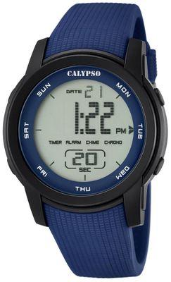 Calypso K5698 Herrenuhr Chrono digital mit PU-Armband – Bild 3
