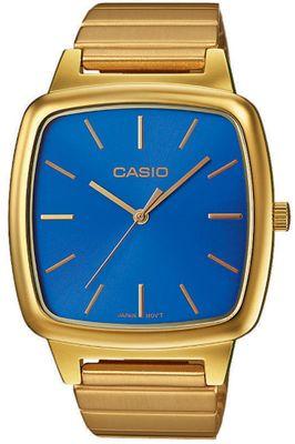 Casio Herrenuhr | mit Edelstahlarmband gelbgoldfarben LTP-E117G – Bild 3