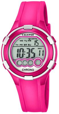 Calypso K5692 Damenuhr Chrono digital mit PU-Armband – Bild 7