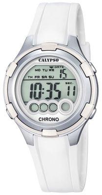 Calypso K5692 Damenuhr Chrono digital mit PU-Armband – Bild 2