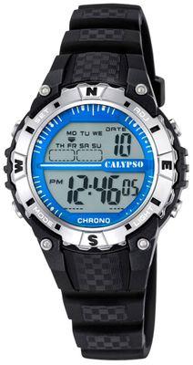 Calypso K5684 Damenuhr Chrono digital mit PU-Armband – Bild 2