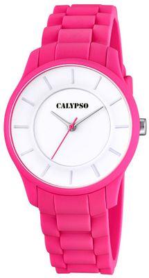 Calypso K5671 Damenuhr analog quarz Polyurethan-Armband – Bild 5