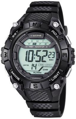 Calypso K5683 Herrenuhr Alarm-Chrono digital PU-Armband – Bild 7