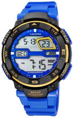 Calypso K5672 Herrenuhr Alarm-Chrono digital PU-Armband – Bild 8