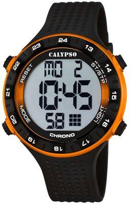 Calypso K5663 Herrenuhr Alarm-Chrono digital PU-Armband – Bild 4