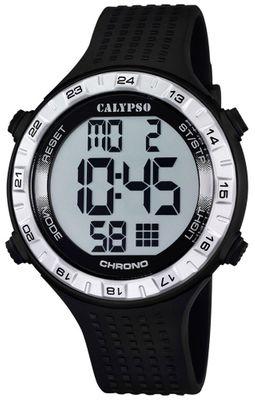 Calypso K5663 Herrenuhr Alarm-Chrono digital PU-Armband – Bild 2