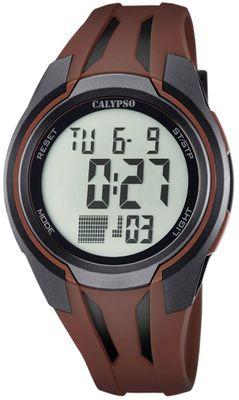 Calypso K5703 Herrenuhr digital Quarz Alarm-Chrono PU-Band – Bild 6