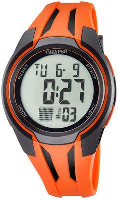 Calypso K5703 Herrenuhr digital Quarz Alarm-Chrono PU-Band – Bild 2