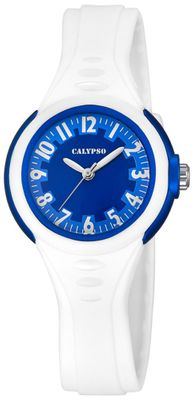 Calypso K5686/5 Kinderuhr analog Quarz Polyurethan-Band
