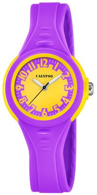 Calypso K5686/6 Kinderuhr analog Quarz Polyurethan-Band