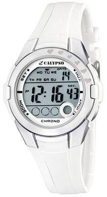 Calypso K5571 Damenuhr Chrono digital Polyurethan-Armband – Bild 2