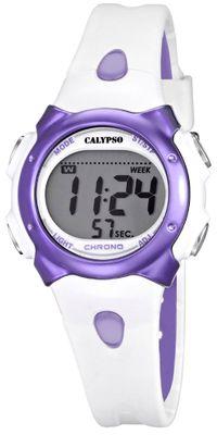 Calypso K5609 Damenuhr Chrono digital Polyurethan-Armband – Bild 3