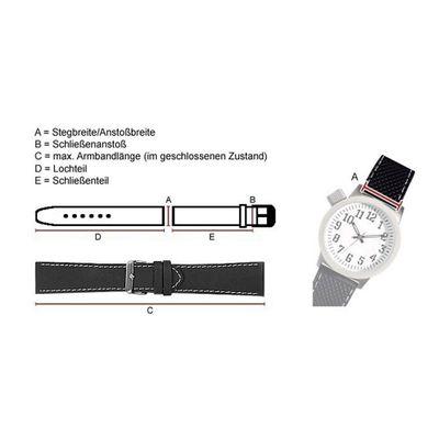 Hugo Boss Uhrenarmband 22mm Silikon schwarz für 1513356 HB.87.1.14.2881 – Bild 2