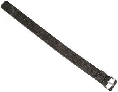 Uhrenarmband | Vintage-Look Leder grau 18mm 20mm 22mm - 28948S – Bild 2