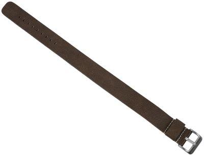Minott Uhrenarmband | Vintage-Look Leder braun 18mm 20mm 22mm - 28951S – Bild 2