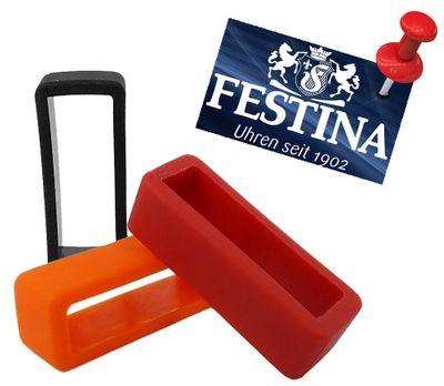 Festina F16604 | Schlaufe für Uhrenarmbänder 20mm Kautschuk – Bild 1