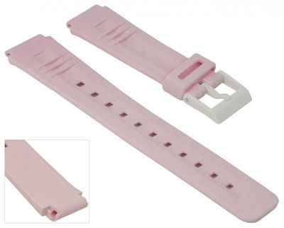 Casio Collection Uhrenarmband | Resin für LDF-40 CA-56 in rosa
