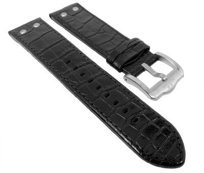 TW STEEL Ersatzband 22mm | Slim Line Ø 45mm Leder schwarz TW1300