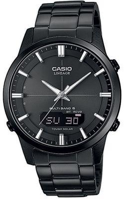 Casio Lineage Funkuhr Solaruhr Herren Edelstahl schwarz LCW-M170DB-1AER