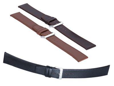 Minott XXXL Uhrenarmband 18mm Lederband für kräftige Handgelenke 29296 – Bild 1