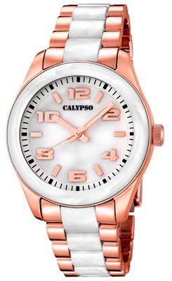 Calypso K5648 Damenuhr analog Quarz mit Faltschließe – Bild 5