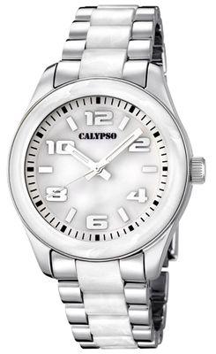 Calypso K5648 Damenuhr analog Quarz mit Faltschließe – Bild 1