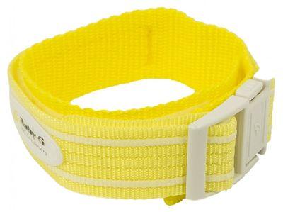 Baby-G Armband | Durchzugsband Textil 20mm für Casio BG-1003AN gelb – Bild 1