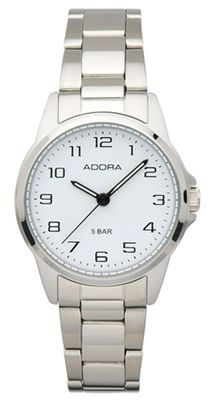 Armbanduhr Damen Analog mit Edelstahlband Adora 29393 – Bild 1