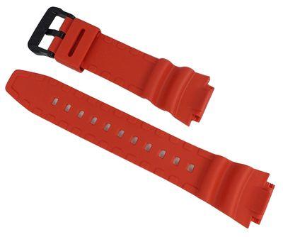 Casio Uhrenarmband AE-1000W | AE-1100W Resin Replacement Band rot – Bild 2