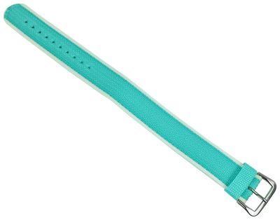 Baby-G Armband | Durchzugsband Textil 21mm für Casio BG-212C grün – Bild 1