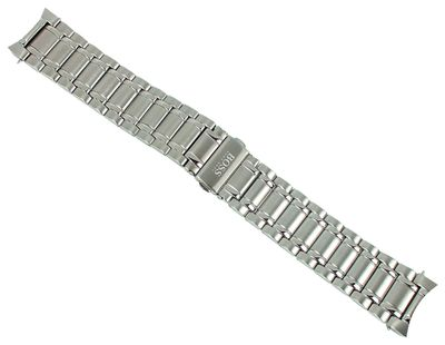 Hugo Boss Uhrenarmband 22mm Edelstahl Aeroliner Chronograph 1513182 – Bild 1