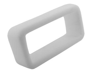 TW STEEL | Schlaufe weiß 22mm für Uhrenarmbänder aus Kautschuk