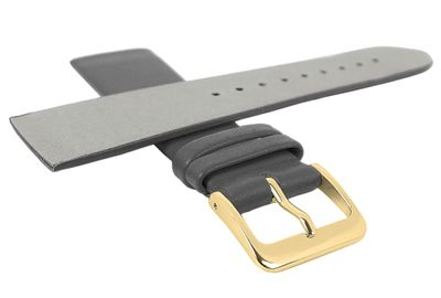 Minott Uhrenarmband | Leder grau passend zu Skagen 29669 – Bild 2