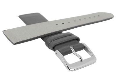 Minott Uhrenarmband | Leder grau passend zu Skagen Denmark 29669 – Bild 8