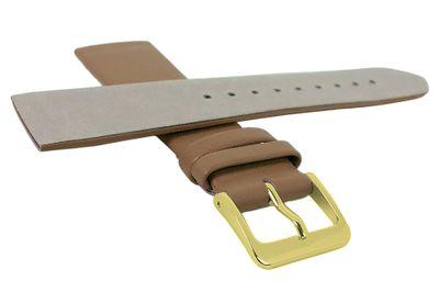 Minott Uhrenarmband | Leder blassbraun passend zu Skagen Denmark 29680 – Bild 2