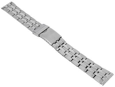 Minott┃Herren Uhrenarmband Edelstahl silberfarben 29692S – Bild 1