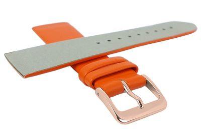Minott Uhrenarmband | Leder orange passend zu Skagen Denmark 29695 – Bild 4