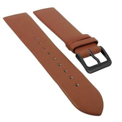 Minott Uhrenarmband | Leder kupferbraun passend zu Skagen 29699 – Bild 5