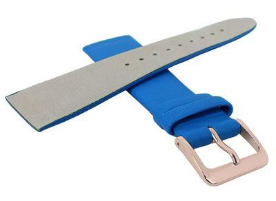 Minott Uhrenarmband | Leder enzian blau passend zu Skagen 29703 – Bild 4