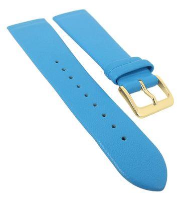 Minott Uhrenarmband | Leder blau passend zu Skagen Denmark 29704 – Bild 1