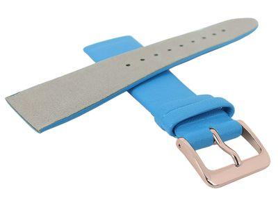 Minott Uhrenarmband | Leder blau passend zu Skagen Denmark 29704 – Bild 4