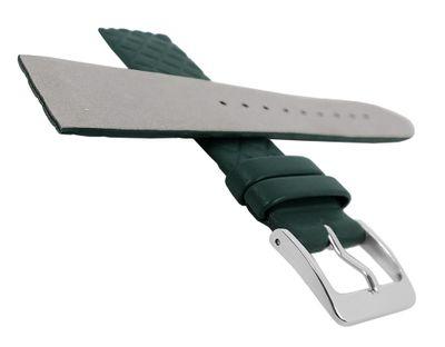 Minott Uhrenarmband | Leder dunkelgrün Raute passend zu Skagen 29772 – Bild 8
