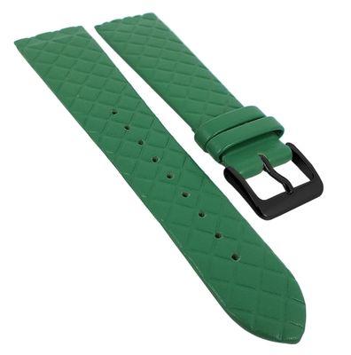 Minott Uhrenarmband | Leder grün Raute passend zu Skagen Denmark 29778 – Bild 5