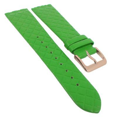 Minott Uhrenarmband | Leder grün Raute passend zu Skagen 29779 – Bild 3